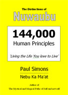 The Distinctions of Nuwaubu - 144000 Human Principles