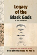 Legacy of the Black Gods - In Time before time